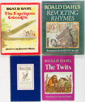 Books:Children's Books, Roald Dahl. Lot of Four First American Editions of His Children'sBooks. Knopf and Viking, [various dates]. In dust jackets....(Total: 4 Items)