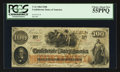Confederate Notes:1862 Issues, T41 $100 1862 PF-10 C. 315A.. ...