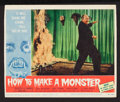 """Movie Posters:Horror, How to Make a Monster (American International, 1958). Lobby Card (11"""" X 13.25""""). Horror.. ..."""