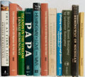 Books:Books about Books, Ernest Hemingway. Lot of Ten Titles About Hemingway, and One by Him(Islands in the Stream). [Various publishers... (Total: 11Items)