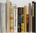 Books:Books about Books, Mark Twain. Lot of Twelve Titles About Mark Twain. [Various publishers, dates, editions]. Generally good.... (Total: 12 Items)