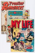 Golden Age (1938-1955):Miscellaneous, Comic Books - Golden Age Seduction of the Innocent-Related Comics Group (Various Publishers, 1950s) Condition: Average VG-.... (Total: 8 Comic Books)