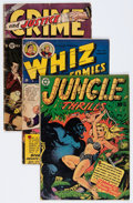 Golden Age (1938-1955):Miscellaneous, Comic Books - Assorted Golden Age Parade of Pleasure-Related Comics Group (Various Publishers, 1950s) Condition: Average VG-.... (Total: 12 Comic Books)