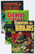 Golden Age (1938-1955):Horror, Comic Books - Assorted Mexican Horror Comics Group (VariousPublishers, 1950s) Condition: Average GD.... (Total: 3 Comic Books)