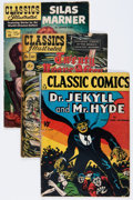 Golden Age (1938-1955):Classics Illustrated, Classics Illustrated Group (Gilberton, 1943-50).... (Total: 4 ComicBooks)