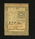Colonial Notes:Pennsylvania, Pennsylvania October 1, 1773 15s New. Bold signatures and excellentprint quality are highlights of this note that has a sma...
