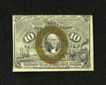 Fractional Currency:Second Issue, Fr. 1245 10c Second Issue New. The bronze oval is reflective on this example....