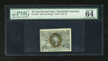Fractional Currency:Second Issue, Fr. 1246 10c Second Issue PMG Choice Uncirculated 64. The EPQ modifier has been added to the label of this note that has two...