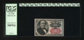 Fractional Currency:Fifth Issue, Fr. 1309 25c Fifth Issue PCGS Choice About New 58PPQ. This note hasa corner fold....