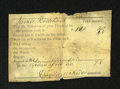 Miscellaneous:Other, April 19, 1847 Tax Receipt.. This is believed to be fromPennsylvania. An approximate one and a half inch split is noticed....