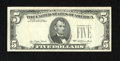 Error Notes:Missing Third Printing, Fr. 1974-? $5 1977 Federal Reserve Note. Fine-Very Fine.. The third printing is missing from this $5 from an unknown distric...