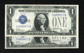 Small Size:Silver Certificates, Fr. 1602/Fr. 1601 $1 1928B/1928A Silver Certificates. Reverse Changeover Pair. Choice Crisp Uncirculated.. This unreported I... (Total: 2 notes)