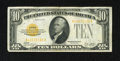 Small Size:Gold Certificates, Fr. 2400 $10 1928 Gold Certificate. Very Fine-Extremely Fine.. This attractive $10 Gold is blessed with original paper surfa...