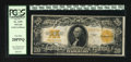 Large Size:Gold Certificates, Fr. 1187 $20 1922 Gold Certificate PCGS Very Fine 20PPQ. Original surfaces and nice orange ink are merits of this $20 Gold....
