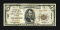 National Bank Notes:Colorado, Fort Collins, CO - $5 1929 Ty. 1 The Poudre Valley NB Ch. # 7837.Wholesome edges and original surfaces are merits of th...