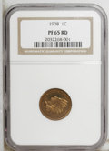 Proof Indian Cents: , 1908 1C PR65 Red NGC. NGC Census: (21/11). PCGS Population (25/13). Mintage: 1,620. Numismedia Wsl. Price: $885. (#2413)...