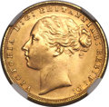 Great Britain, Great Britain: Victoria gold Sovereign 1872,...