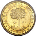 Costa Rica, Costa Rica: Central American Republic gold 4 Escudos 1828-F CR,...