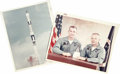 """Transportation:Space Exploration, Gemini 8 - Collection of Four Official NASA Photos. All are 8"""" x 10"""" original color glossies with red NASA image numbers in ... (Total: 4 Item)"""