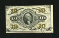 Fractional Currency:Third Issue, Fr. 1256 10¢ First Issue Choice New....