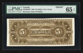 Canadian Currency: , Halifax, NS- The Merchants' Bank $5 1880 Back Proof UNL. ...