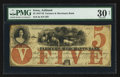 Obsoletes By State:Iowa, Ashland, IA- Farmers and Merchants Bank $5 Oct. 26, 1857 Oakes 4-4....