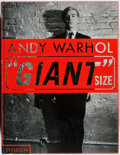 Books:Art & Architecture, Andy Warhol [subject]. Steven Bluttal, et al. [editors]. Andy Warhol: Giant Size. Phaidon, 2006. First edition, firs...