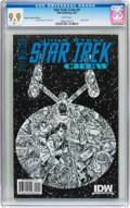 Modern Age (1980-Present):Science Fiction, Star Trek: Crew #4 (Retailer Incentive Edition) (IDW Publishing,2009) CGC MT 9.9 White pages....