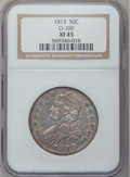 Bust Half Dollars: , 1813 50C XF45 NGC. O-109. NGC Census: (66/553). PCGS Population(76/317). Mintage: 1,241,903. Numismedia Wsl. Price for pr...