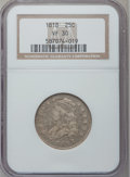 Bust Quarters: , 1818 25C VF30 NGC. NGC Census: (17/312). PCGS Population (46/296).Mintage: 361,174. Numismedia Wsl. Price for problem free...