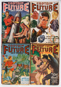 Pulps:Science Fiction, Captain Future Group (Better Publications, 1941-44) Condition:Average VG-.... (Total: 7 Items)