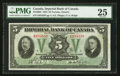 Canadian Currency: , Toronto, ON- Imperial Bank of Canada $5 Nov. 1, 1933 Ch #375-20-02. ...