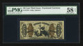 Fractional Currency:Third Issue, Fr. 1370 50¢ Third Issue Justice PMG Choice About UNC 58 EPQ.. ...