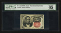 Fractional Currency:Fifth Issue, Fr. 1265 10¢ Fifth Issue PMG Gem Uncirculated 65.. ...