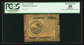 Colonial Notes:Continental Congress Issues, Continental Currency May 10, 1775 $6 PCGS Apparent Extremely Fine40.. ...