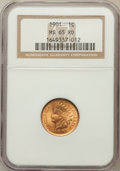 Indian Cents: , 1901 1C MS65 Red NGC. NGC Census: (116/29). PCGS Population(191/55). Mintage: 79,611,144. Numismedia Wsl. Price for proble...