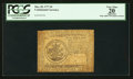 Colonial Notes:Continental Congress Issues, Continental Currency May 20, 1777 $5 PCGS Apparent Very Fine 20.....