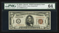 Small Size:World War II Emergency Notes, Fr. 2302 $5 1934A Hawaii Federal Reserve Note. PMG Choice Uncirculated 64.. ...