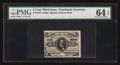 Fractional Currency:Third Issue, Fr. 1238 5¢ Third Issue PMG Choice Uncirculated 64 EPQ.. ...