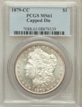 Morgan Dollars: , 1879-CC $1 Capped Die MS61 PCGS. PCGS Population (205/1032). NGCCensus: (144/589). Numismedia Wsl. Price for problem free...