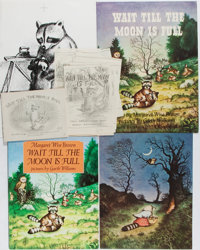 Garth Williams, illustrator. Mockups, Original Pencil Drawings and Sketches from the Children's Book by Margaret Wise Br...
