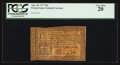 Colonial Notes:Pennsylvania, Pennsylvania April 10, 1777 20s PCGS Very Fine 20.. ...