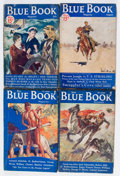 Pulps:Hero, Blue Book Group (McCall, 1933-39) Condition: Average VG.... (Total: 14 Items)