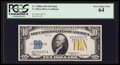 Small Size:World War II Emergency Notes, Fr. 2308 $10 1934 North Africa Mule Silver Certificate. PCGS VeryChoice New 64.. ...