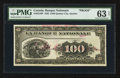 Canadian Currency: , Quebec City, PQ- La Banque Nationale $100 Nov. 2, 1922 Ch # 510-22-10P. ...