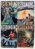 "Pulps:Science Fiction, Astounding Stories ""Grey Lensman"" Group (Street & Smith,1939-40).... (Total: 4 Comic Books)"