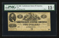 Confederate Notes:1862 Issues, T42 $2 1862 PF-4 Cr. 336A.. ...