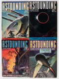 Pulps:Science Fiction, Astounding Stories Group (Street & Smith, 1940-41) Condition:Average VG.... (Total: 12 Comic Books)