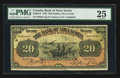 Canadian Currency: , Halifax, NS- The Bank of Nova Scotia $20 January 2, 1925 Ch # 550-28-18. ...