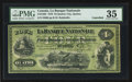 Canadian Currency: , Quebec City, PQ- La Banque Nationale $4 May 28, 1870 Ch #510-12-02. ...